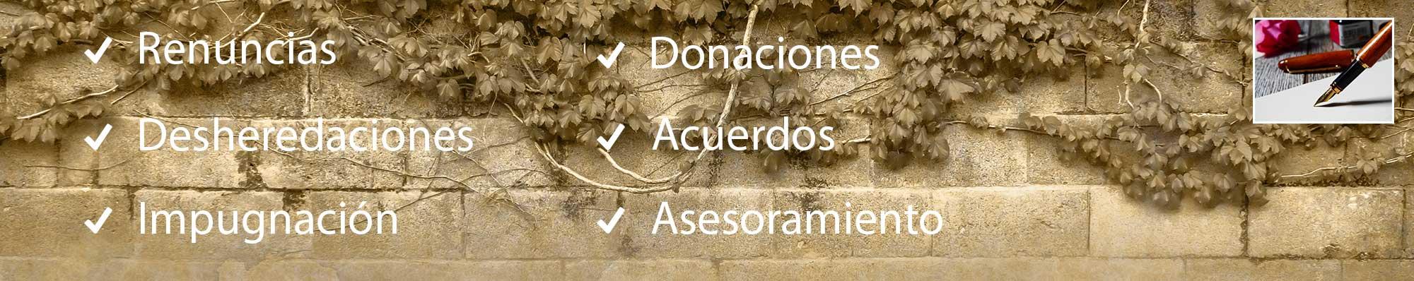 Abogados Valencia, Herencias y Sucesiones